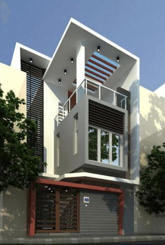 Mẫu nhà 2 tầng - 1 tum được thiết kế vô cùng nghệ thuật - 15
