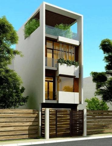 Mẫu nhà 3 tầng - 1 tum đẹp, sang trọng và hiện đại