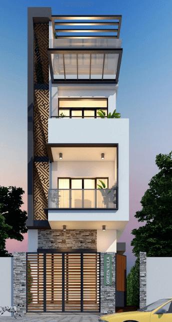 Mẫu thiết kế nhà 3 tầng đẹp - độc - lạ dành cho những ai có cá tính mạnh