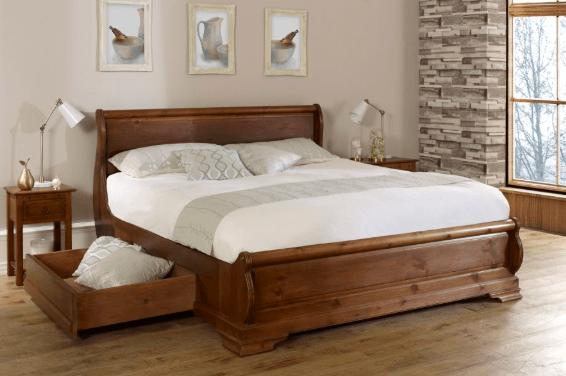 Giường có ngăn kéo ở dưới gầm sẽ ngăn cản luồng năng lượng cân bằng xoay chuyển xung quanh cơ thể khi ta ngủ